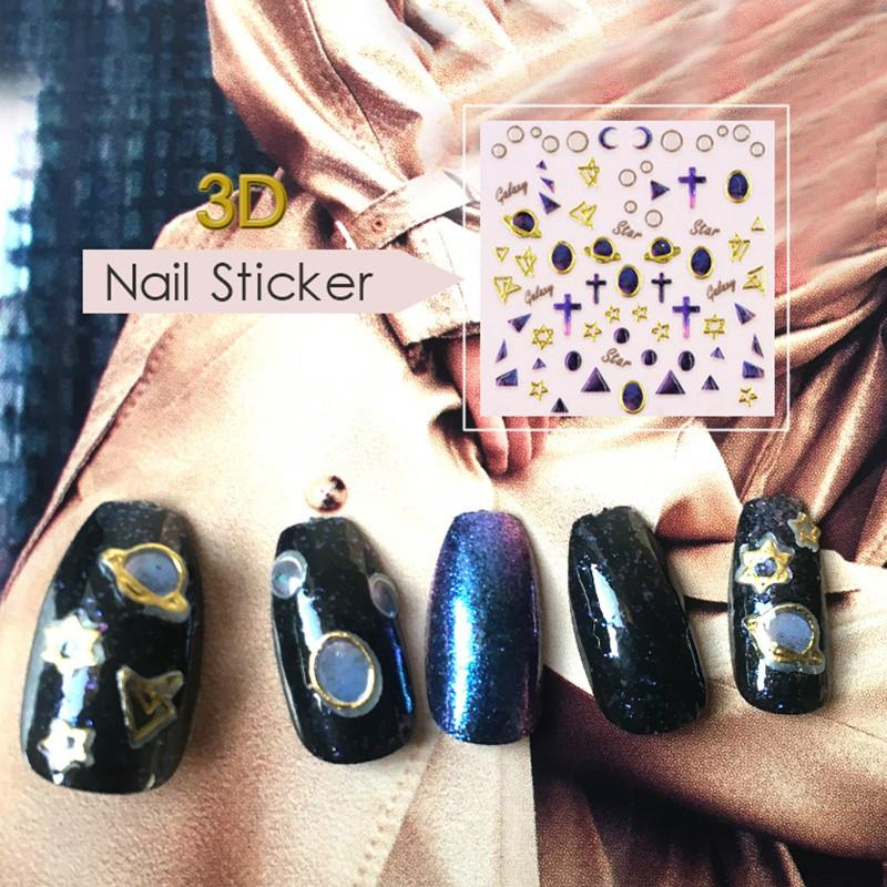 fashion gel nail decals factory for ladies-3