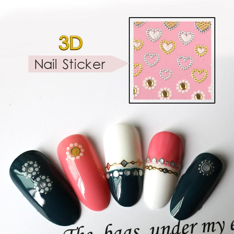 lovely nail sticker with good price for women-1