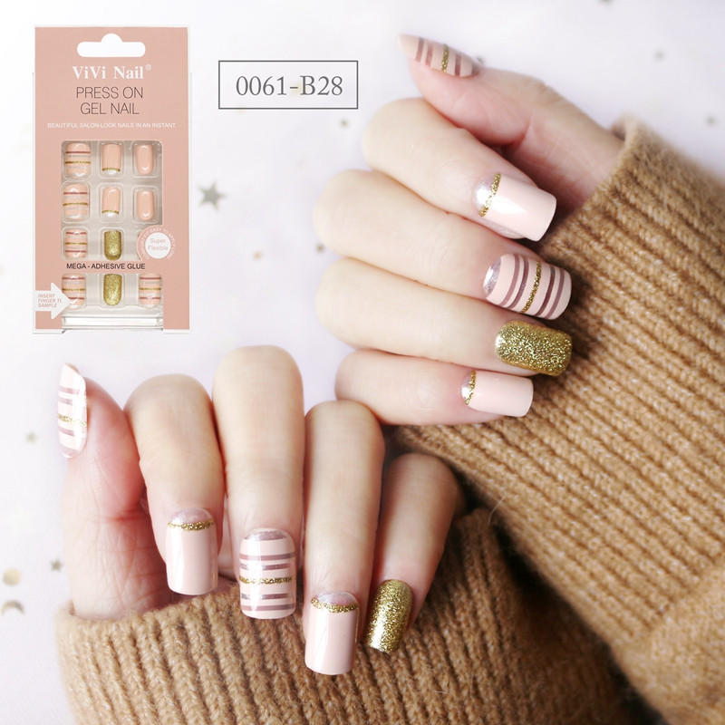 Newair Fake Nails gray halloween press on nails manufacturer for wedding-2
