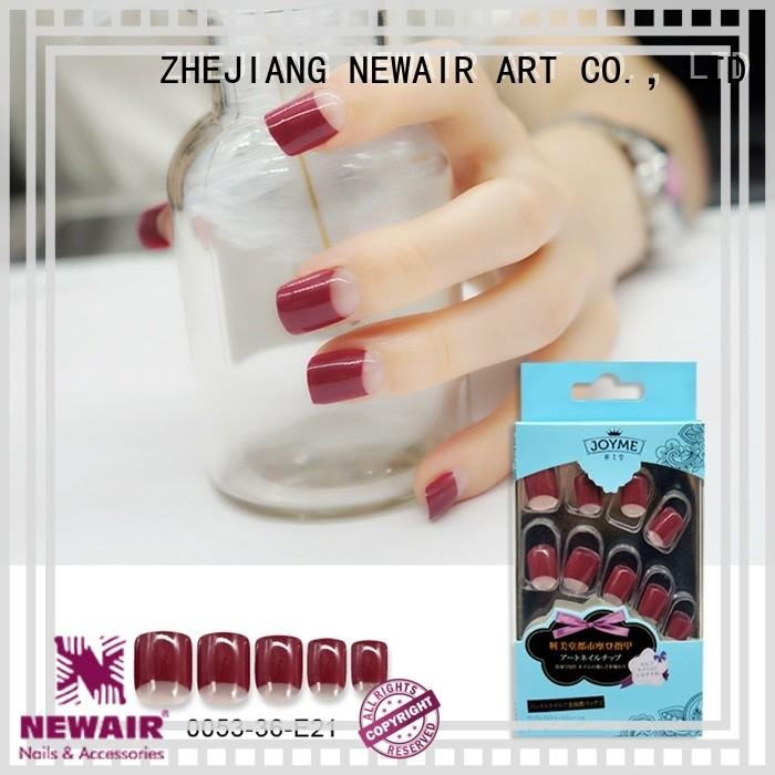 Newair Fake Nails artificial nails supplier for girl