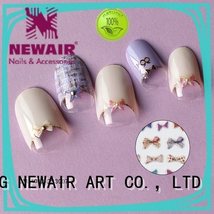 promotional custom nail decals for ladies