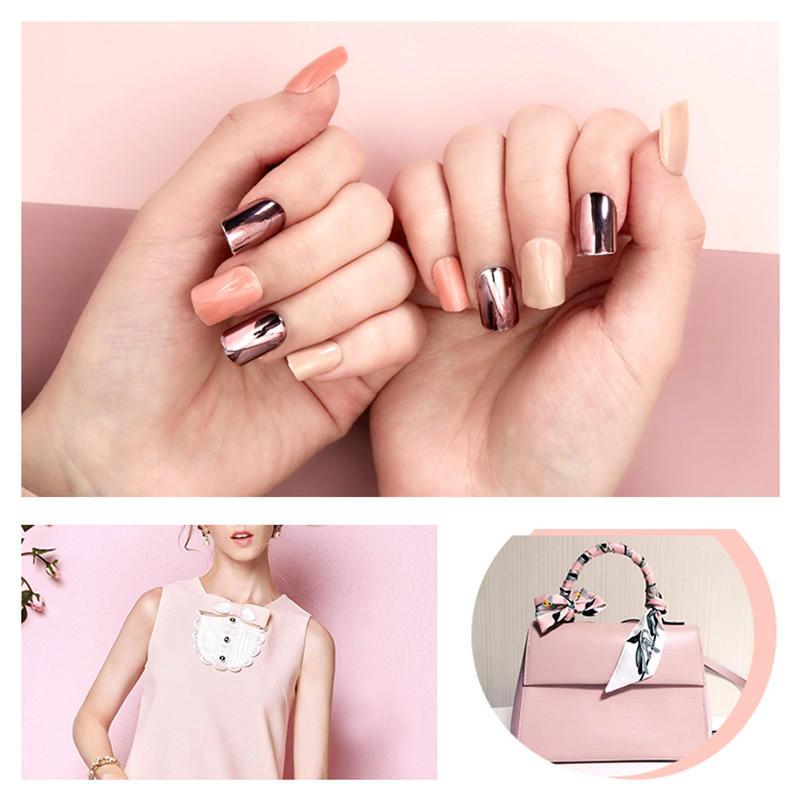 Newair Fake Nails matt press on nails short series for girls-2