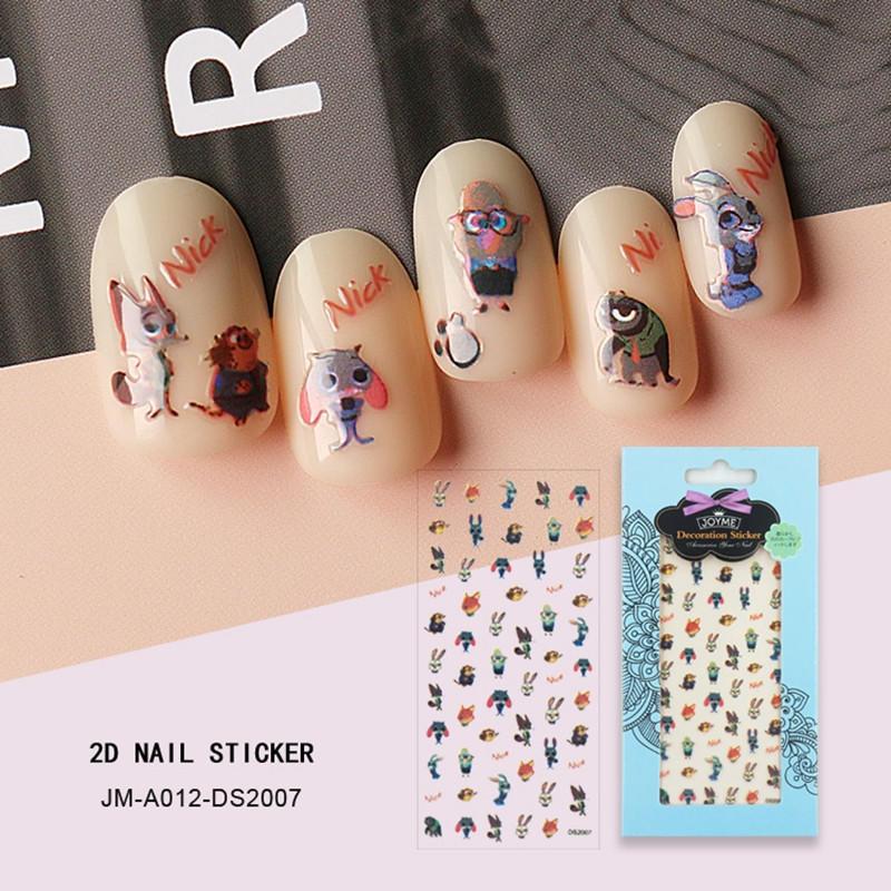 shinny designer nail stickers design for women-2