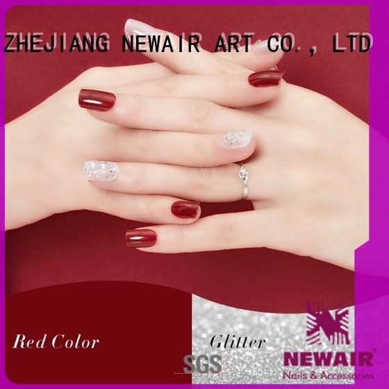 Newair Fake Nails artificial nails kit customized for lady