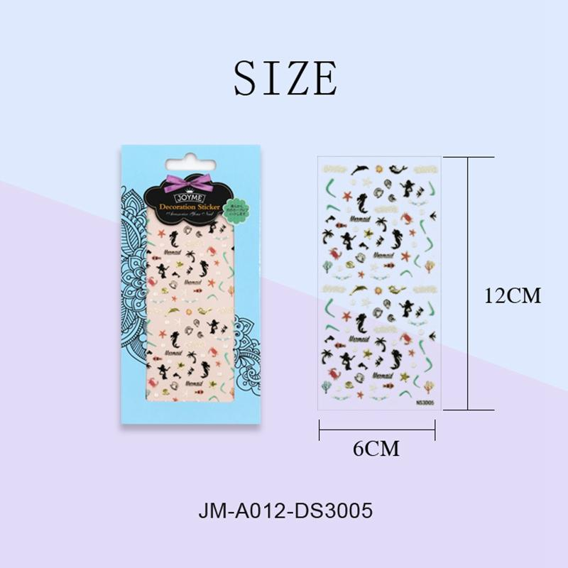 cute nail letter stickers with good price for commercial-3