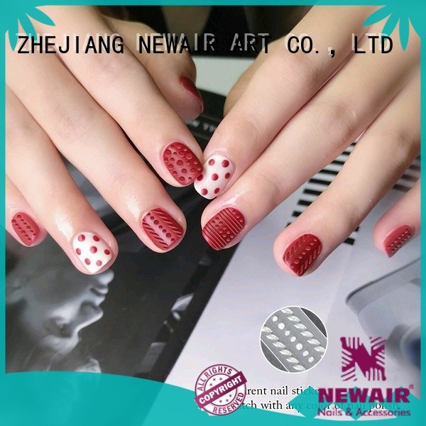Newair Fake Nails metallic christmas nail stickers inquire now for commercial