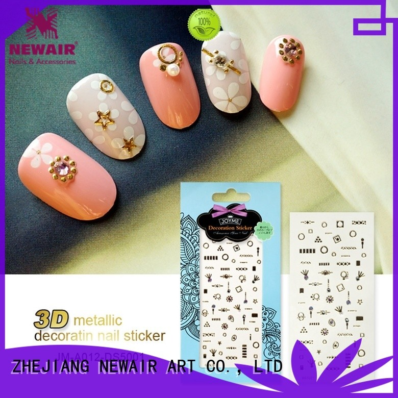 Newair Fake Nails fashion fingernail stickers factory for girl