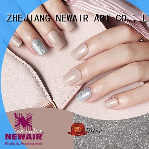 porcelain best press on nails customized for wedding