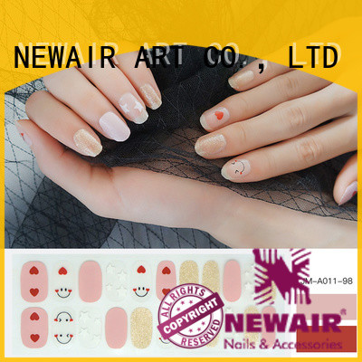 colour nail color strips factory price for commercial