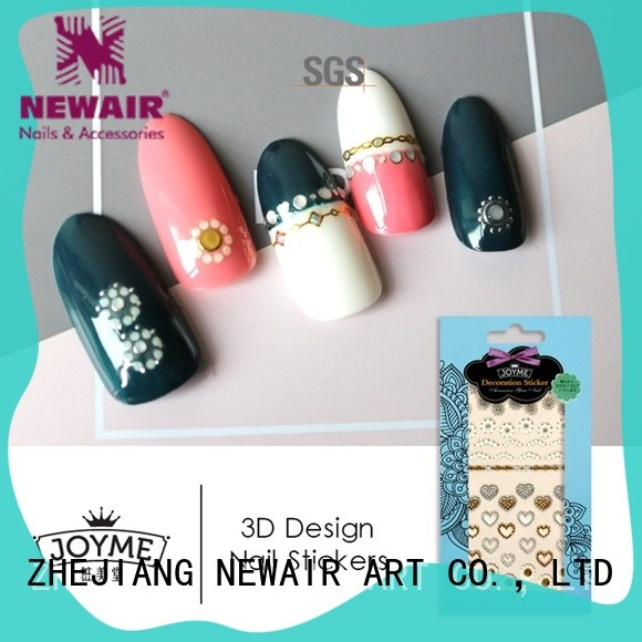 lovely nail sticker with good price for women