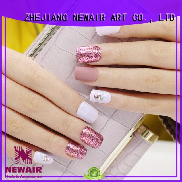 Newair Fake Nails artificial nails kit manufacturer for girls