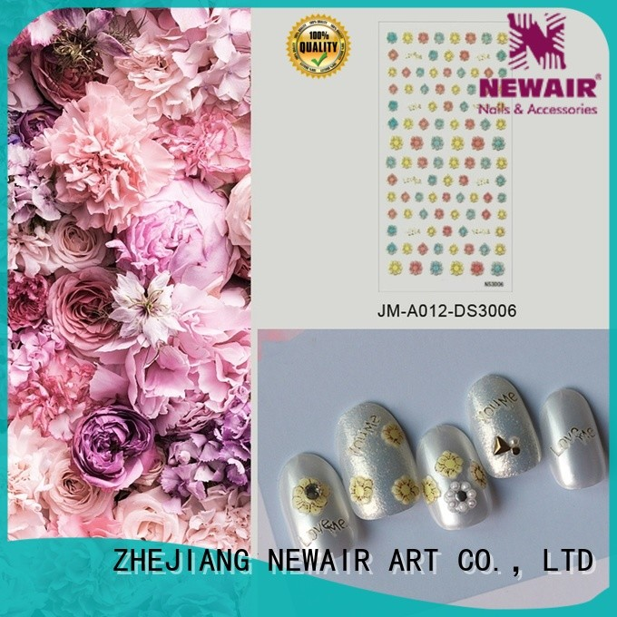 Newair Fake Nails holiday nail decals with good price for commercial