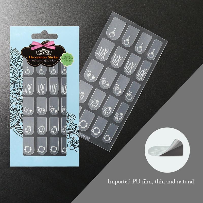 Newair Fake Nails popular holiday nail decals design for ladies-3