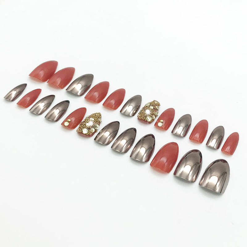 Newair Fake Nails best artificial nails directly sale for bride-2