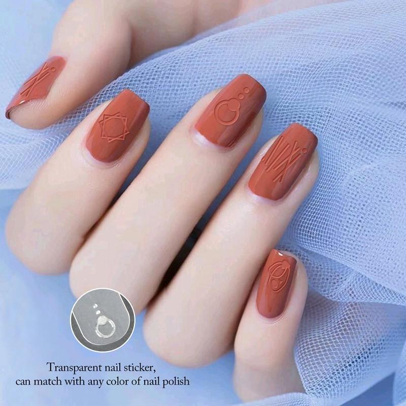 Newair Fake Nails popular holiday nail decals design for ladies-1