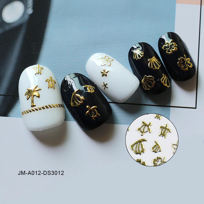 Newair Fake Nails decorative gel nail stickers design for ladies-2