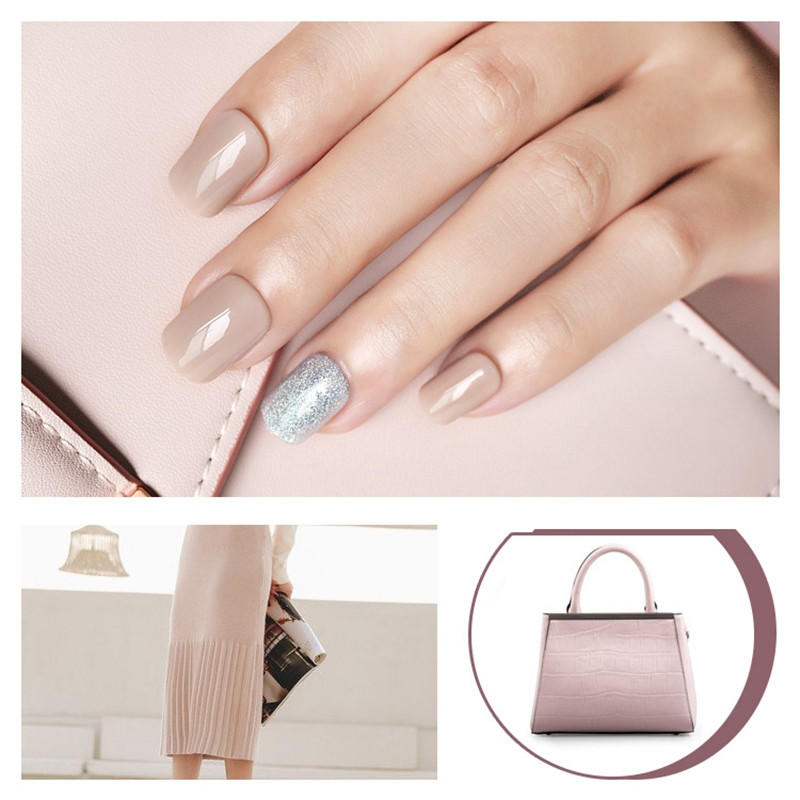 porcelain best press on nails customized for wedding-1