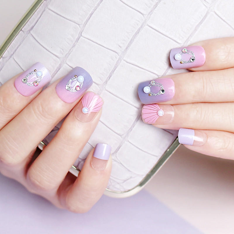 Newair Fake Nails long artificial nails directly sale for lady-1