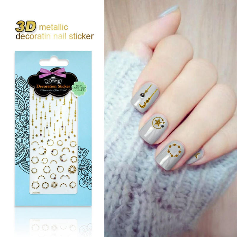 gel christmas nail art stickers with good price for women-2
