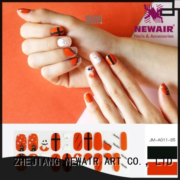 Newair Fake Nails stick on nail polish strips wholesale for gifts