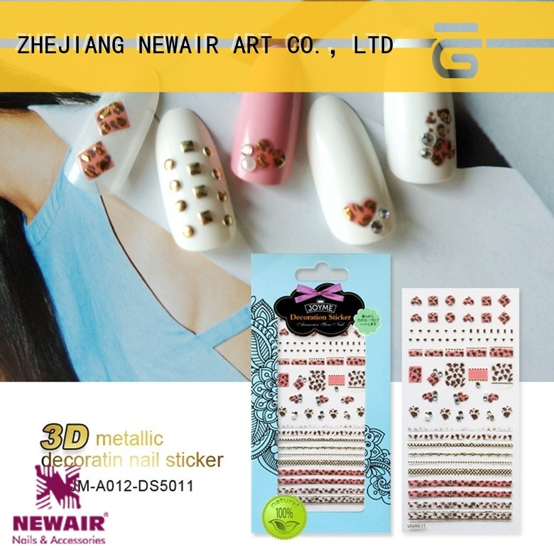 Newair Fake Nails 3d water nail stickers inquire now for women