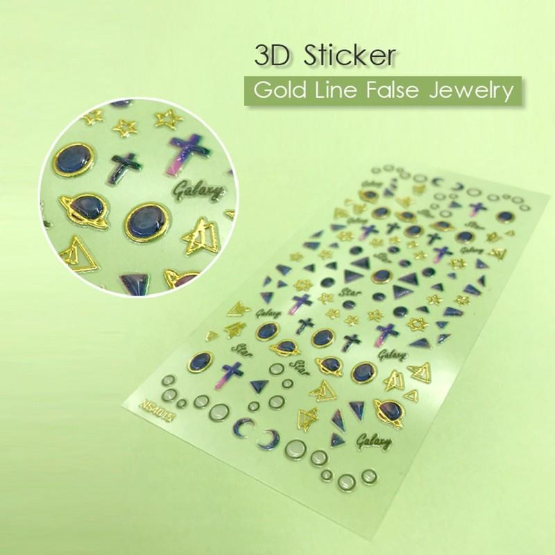 fashion gel nail decals factory for ladies-2