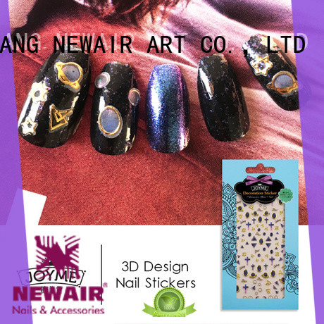 fashion gel nail decals factory for ladies