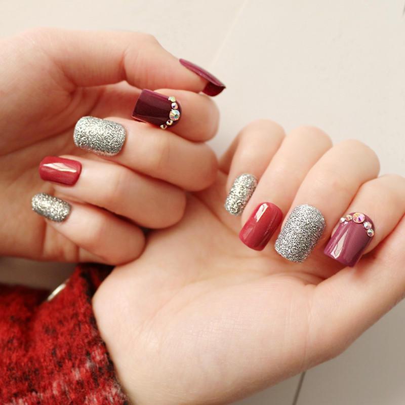 Newair Fake Nails gel press on nails manufacturer for bride-1