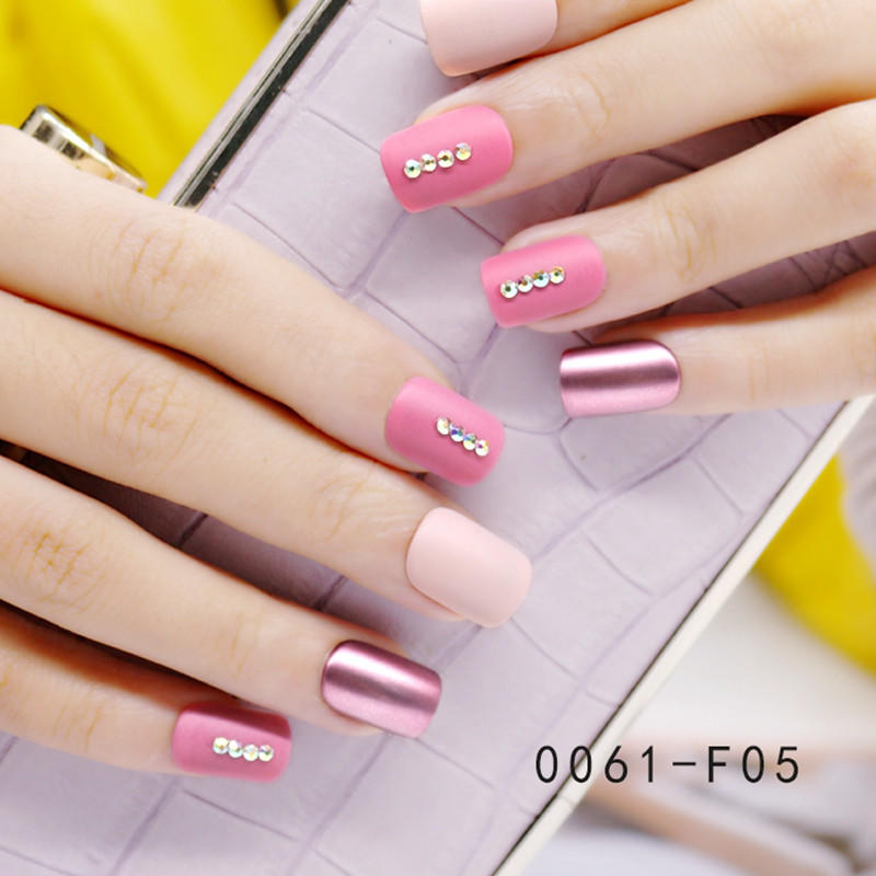 Newair Fake Nails classical artificial nail set manufacturer for lady-1