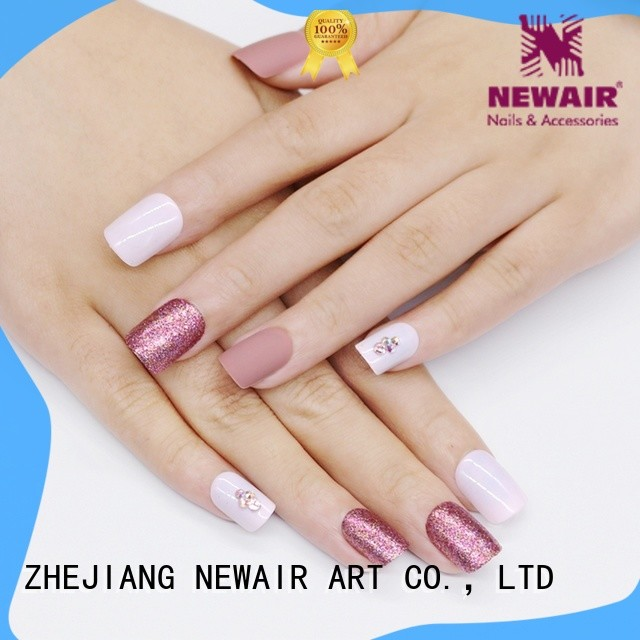 predesigned short press on nails from China for girls