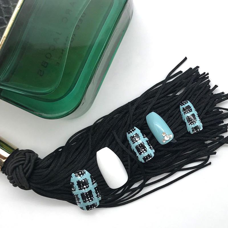 Newair Fake Nails grey false nails short supplier for christmas-2