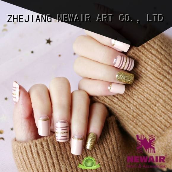 Newair Fake Nails gray halloween press on nails manufacturer for wedding