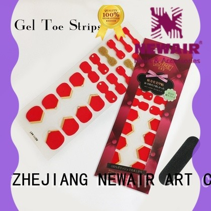 Newair Fake Nails nail art stripes personalized for gifts
