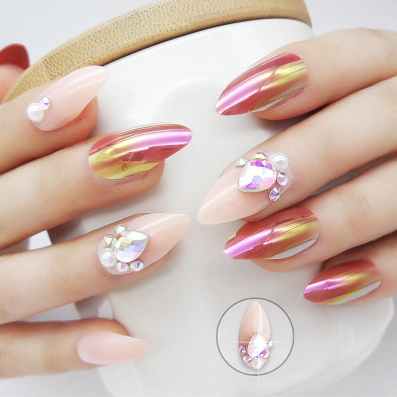Newair Fake Nails how to remove press on nails series for lady-2