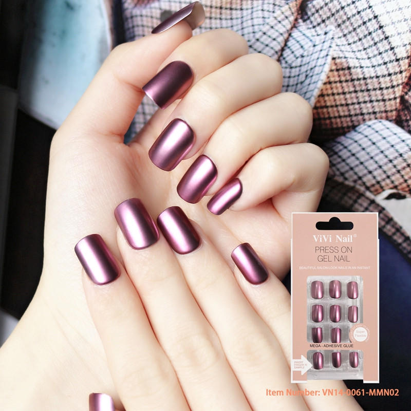 sexy impress press on nails customized for lady-2