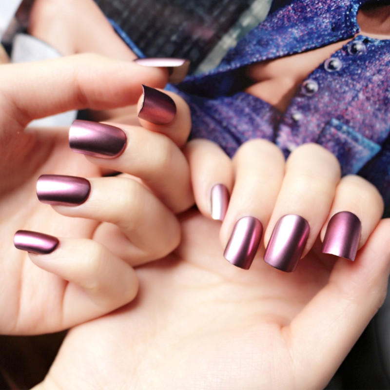 sexy impress press on nails customized for lady-1