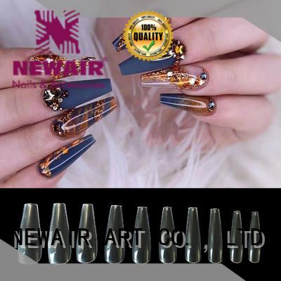 Newair Fake Nails 100pcs ballerina nail tips personalized for party