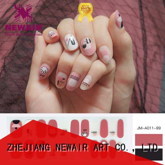 Newair Fake Nails grape sally hansen nail polish strips wholesale for girl