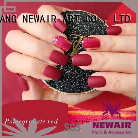 Newair Fake Nails clear press on nails from China for wedding