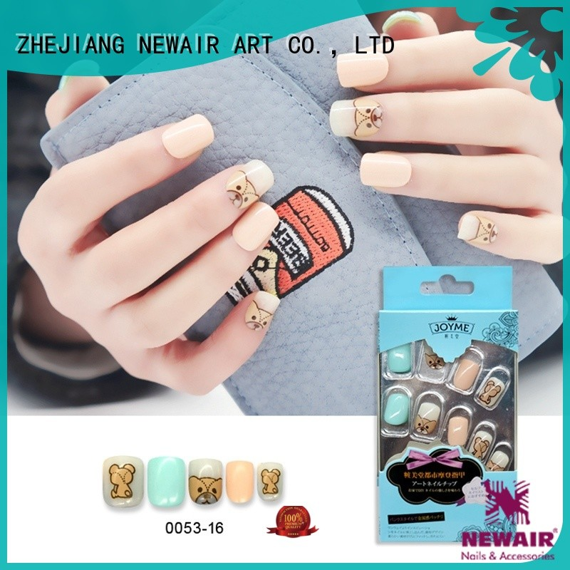 hot selling artificial nails factory price for girl
