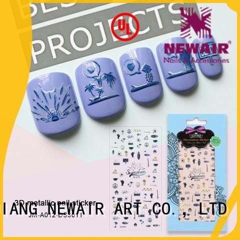 Newair Fake Nails self-adhesive nail decals for girl