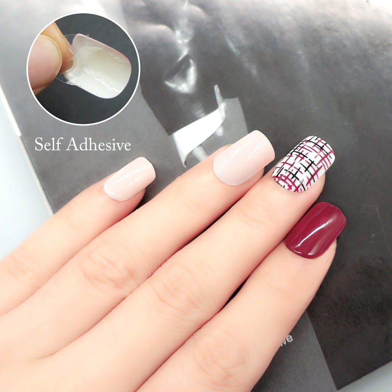 nai artificial nail set customized for bride-1