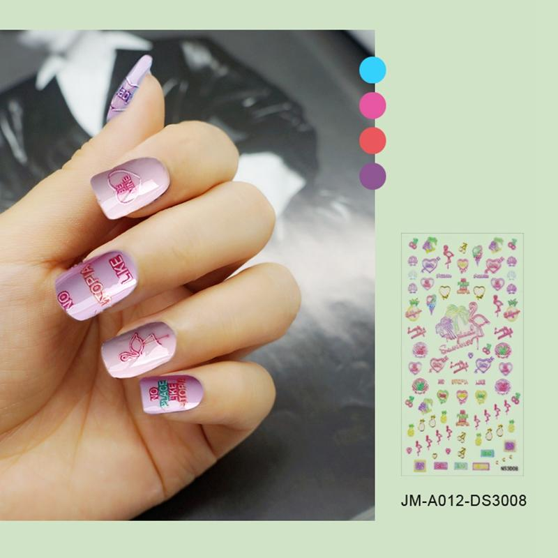 universal 3d nail decals design for girl-3
