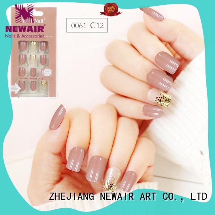 Newair Fake Nails cute press on nails series for wedding