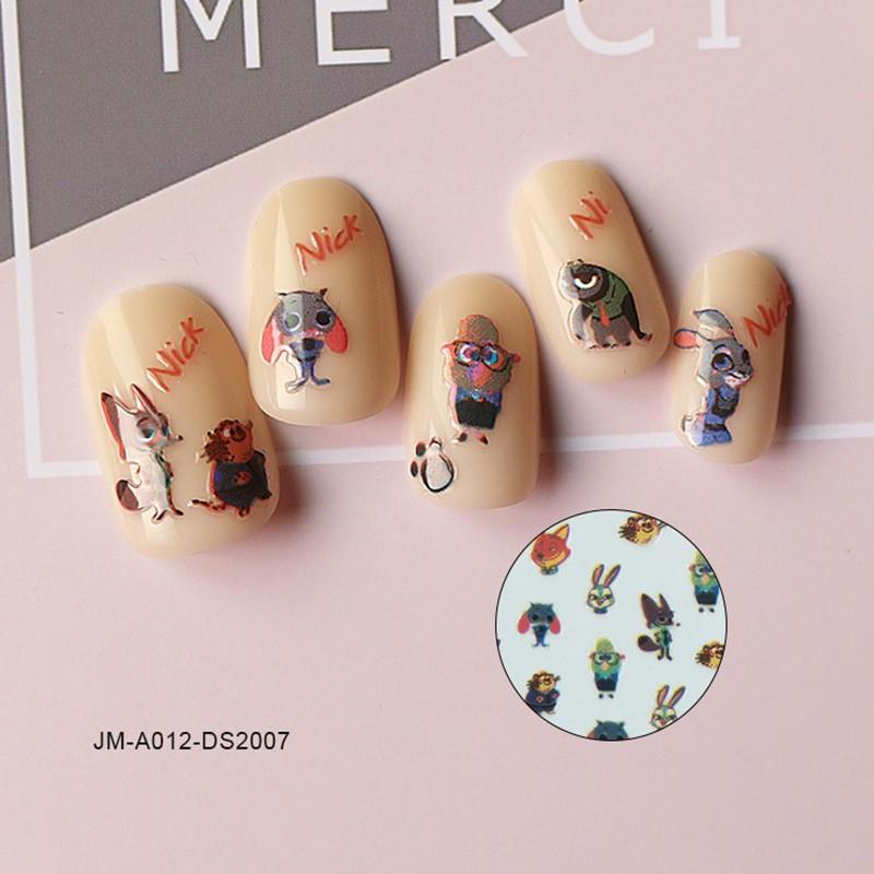 shinny designer nail stickers design for women-1