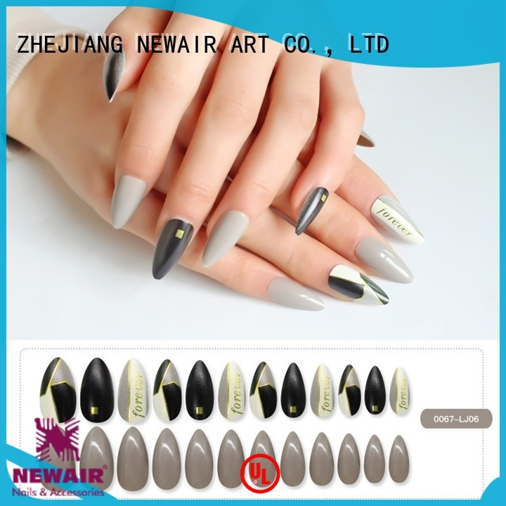 Newair Fake Nails durable artificial nails supplier for gifts