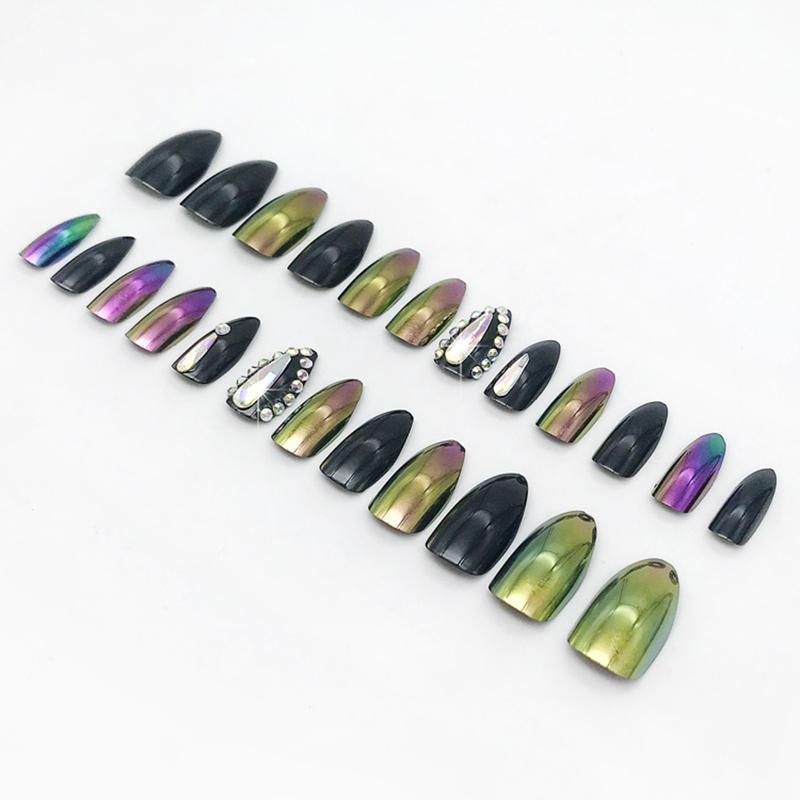Newair Fake Nails 3d halloween press on nails manufacturer for girls-2