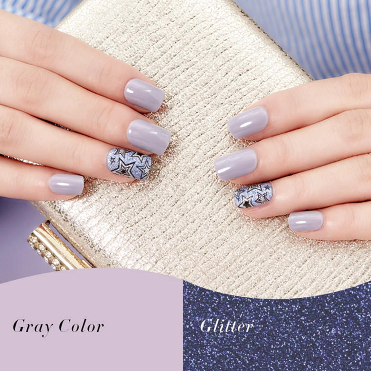 popular natural artificial nails from China for bride-2