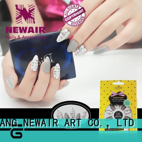 Newair Fake Nails 3D fake nail wholesale for christmas