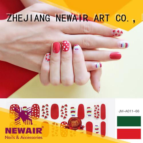 gel nail art stripes factory price for girl